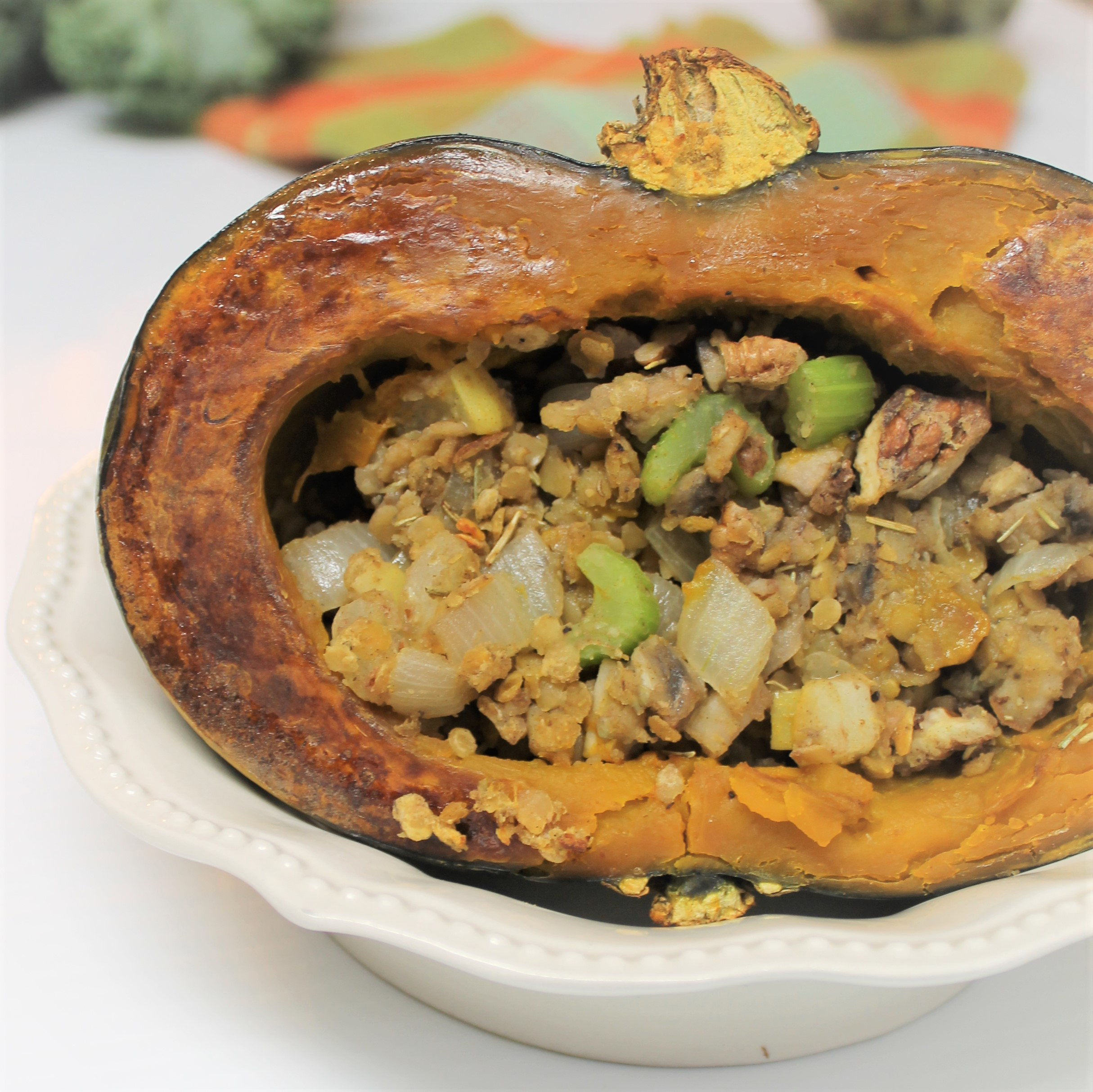 Stuffed Buttercup Squash